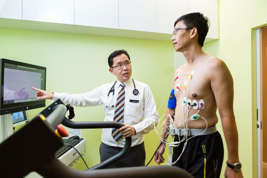 Exercise Stress Electrocardiogram (ECG)